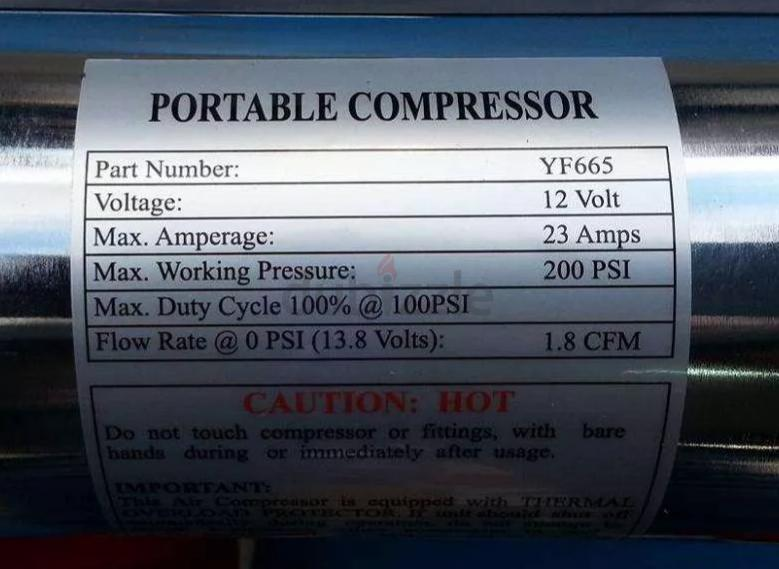 VEHICLE MOUNTED AIR COMPRESSORS