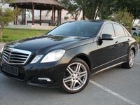 Mercedes-Benz E-Class 2010 Mercedes-Benz E500 V8 GCC EMC AMG 2010 (FULL ...