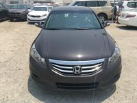 هوندا أكورد 2012 Honda Accord 2012 fullopshin Brown color GCC