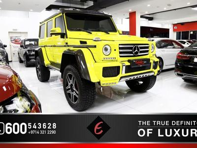 مرسيدس بنز الفئة-G 2016 {2016} MERCEDES G 500-4X4  (GCC SPEC) IN PERF...