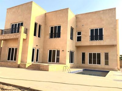 Property for Rent photos in Al Barsha 2: Modern Villa | Pvt Pool | Maids Room | 5BR - 1