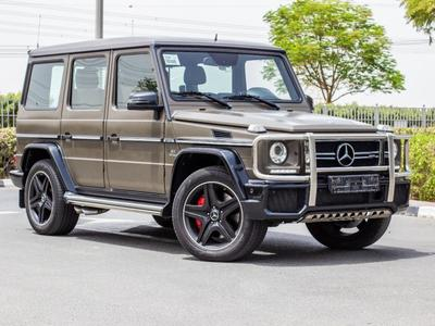 مرسيدس بنز الفئة-G 2015 Mercedes G63 Special Edition Mat colour Garga...