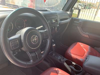 جيب رانجلر 2017 Jeep Wrangler, Red Leather Seats. Warranty 20...