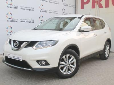 نيسان اكس تريل 2016 NISSAN X-TRAIL 2.5L AWD 2016 DEALER WARRANTY