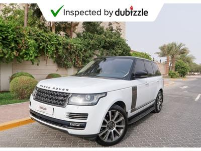 Land Rover Range Rover 2014 AED3286/month | 2014 Range Rover Vogue Hse 5....