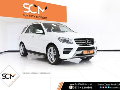 مرسيدس بنز الفئة-M 2014 (( WARRANTY AVAILABLE )) MERCEDES-BENZ ML350 ...