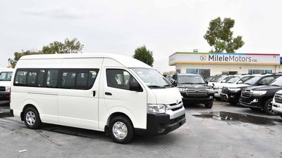 Toyota Hiace 2020 Toyota Hiace High Roof 15 Seater