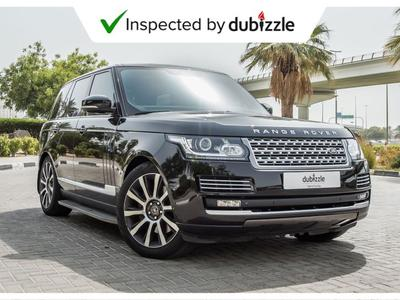 Land Rover Range Rover 2014 AED3737/month | 2014 Land Rover Range Rover V...