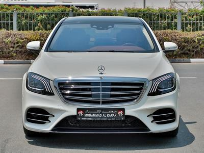Mercedes-Benz S-Class 2018 MERCEDES S560 2018 G.C.C 5000KM ONLY FULL OPT...