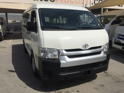Toyota Hiace 2015 TOYOTA HIACE MID-ROOF BUS GCC 2015 IN GOOD CO...