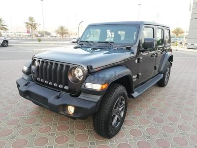 جيب Wrangler Unlimited 2019 2019 Brand New Jeep Wrangler Sport Plus with ...