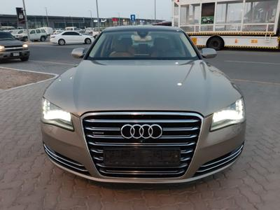 Audi A8 2013 Audi A8 Gulf is very clean and ready to use