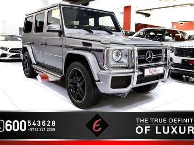 مرسيدس بنز الفئة-G 2017 MERCEDES G63//AMG (2017) IN PERFECT CONDITION...