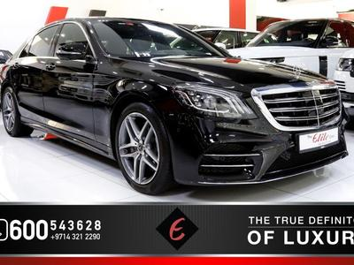 مرسيدس بنز الفئة-S 2019 2019 - MERCEDES S450 IN PERFECT CONDITION (LO...