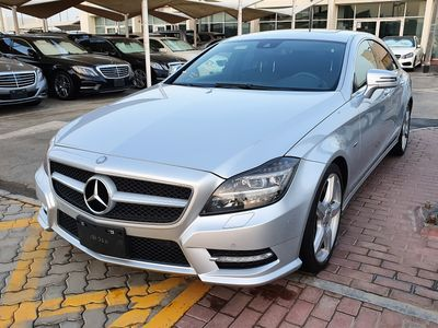 Mercedes-Benz CLS-Class 2012 CLS550 WITH AMG KIT, IMPORTED FROM JAPAN