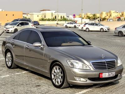 Mercedes-Benz S-Class 2009 Mercedes S 350 2009 GCC in excellent conditio...