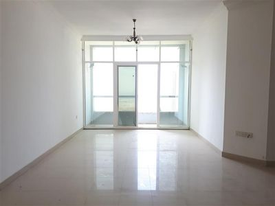 Property for Rent photos in Al Taawun: Sea View 2BR with Parking Gym Pool 1 Month Free 45k - 1