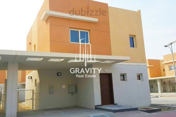 Property for Sale photos in Al Samha: Fancy and Beautiful villa in Al Reef 2 Vacant Unit - 1