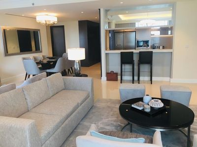 Property for Rent photos in The Address Residences Fountain Views: Cheerfull Full Fountain View 3BHK+Maid - 1