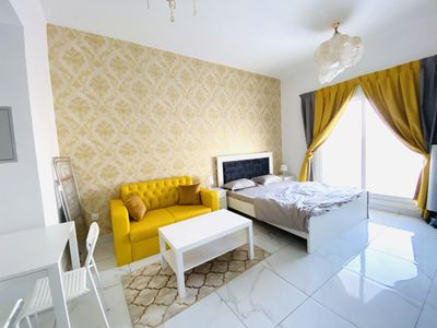 Property for Rent photos in Al Warsan 4: Brand New Studio | Fully Furnished | Including Bills - 1