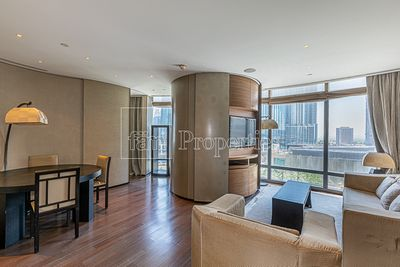 Property for Sale photos in Burj Khalifa Area: 1BR Boulevard View Armani Casa Furnished - 1