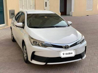 Toyota Corolla 2017 Toyota Corolla 1.6 2017 White Gcc Single owne...