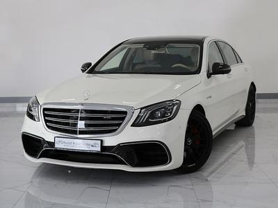 Mercedes-Benz S-Class 2018 Mercedes S63 AMG 4MATIC+ 2018 GCC - Mercedes ...