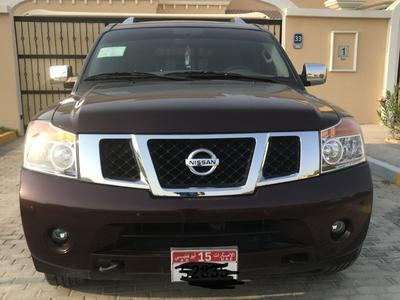 نيسان أرمادا 2015 Excellent 4x4, low mileage, perfect inside ou...