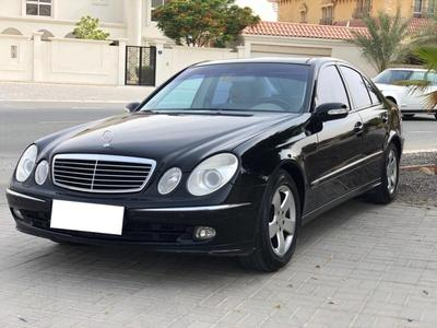 Mercedes-Benz E-Class 2006 GCC  LOW MILEAGE ....Mercedes-Benz E 280 Adva...