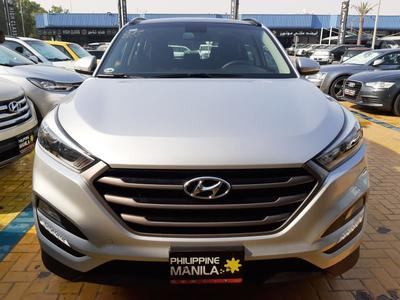 Hyundai Tucson 2017 HYUNDAI TUCSON 2017 SILVER - GCC SPECIFICATIO...
