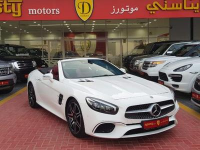 Mercedes-Benz SL-Class 2018 Less 20, 000DHS DISCOUNT SL400-AMG KIT.2018. ...