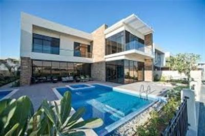 Property for Sale photos in DAMAC Hills (Akoya by DAMAC): 3 Bed Townhouse with park facing Single Row A La Carte by Damac Hills, Dubai - 1