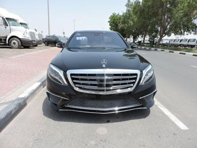 مرسيدس بنز الفئة-S 2014 CLEAN TITLE S 500 L  FOR SALE ( ONLY 45000