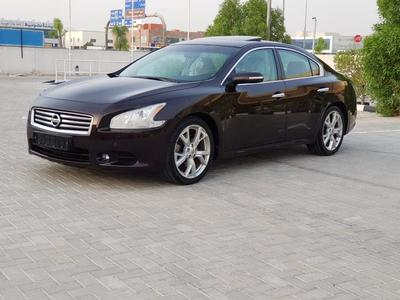 نيسان ماكسيما 2013 Nissan Maxima GCC fill option with sunroof ex...