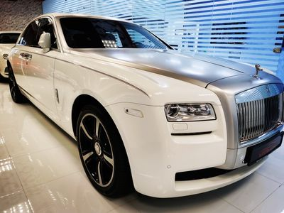 رولز رويس جوست 2014 ROLLS ROYCE GHOST 2014 Lovely Car 69.128 Klms