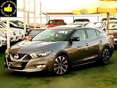 نيسان ماكسيما 2016 UNDER WARRANTY..ALMOST NEW...TOP MAXIMA..SR.....