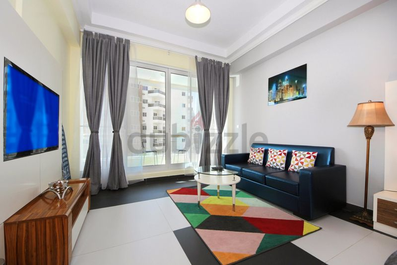 Property for Rent photos in Dubai Silicon Oasis: Contemporary Designed Studio in Silicon Heights - 1
