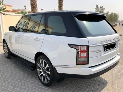 Land Rover Range Rover 2016 2016 Vouge V8 warranty + service contract