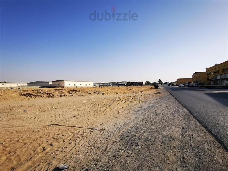 Property for Sale photos in Al Jarrf: FREEHOLD INDUSTRIAL LAND / BUILD YOUR OWN MORE THEN 10% RENTAL INCOME / - 1