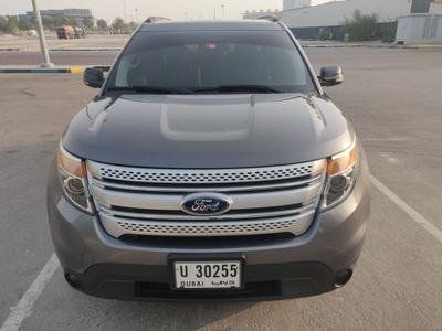 Ford Explorer 2013 Explorer - agency maintained with service con...