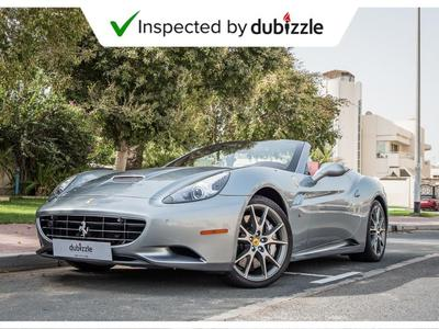 Ferrari California 2012 AED9936/month | 2012 Ferrari California 4.3L ...