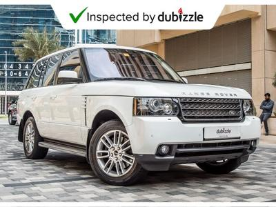Land Rover Range Rover 2012 AED2505/month | 2012 Range Rover HSE 5.0L | F...