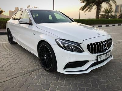 مرسيدس بنز الفئة-C 2018 Mercedes C 300 With kit 63 AMG 2018