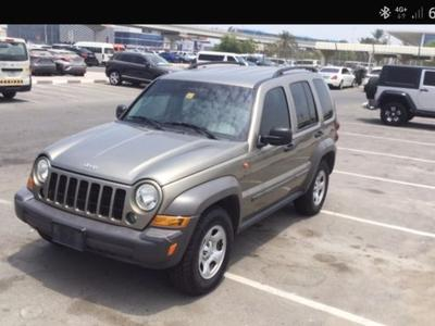 Jeep Cherokee 2007 Urgent sale Jeep liberty 2007 GCC super excel...
