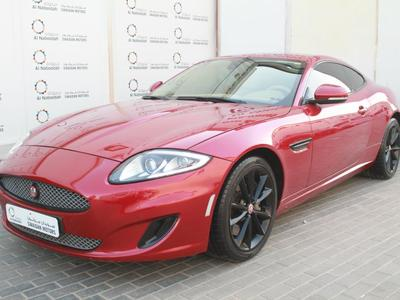 Jaguar XK 2014 JAGUAR XK COUPE 5.0 V8 2014 GCC SPECS WITH FR...