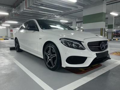 مرسيدس بنز الفئة-C 2018 2018 Mercedes C43 AMG in pristine condition
