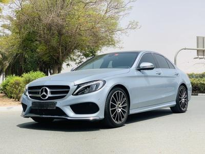 مرسيدس بنز الفئة-C 2018 Mercedes C200 AMG Full Option Gcc Under Warra...