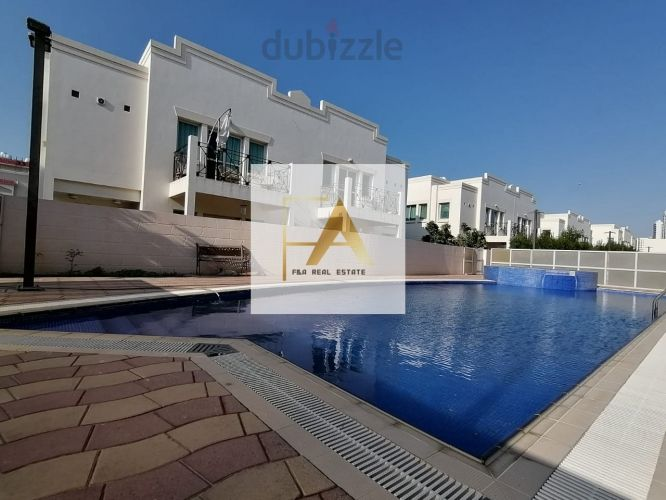Property for Rent photos in Al Fisht: 3 Bedroom Villa in a compound with shared swimming pool - 1
