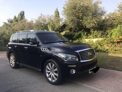 Infiniti QX80 2014 INFINITI-QX80 with 65,600kms only. Under warr...
