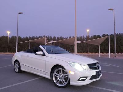 Mercedes-Benz E-Class 2011 2011 Mercede - Benz E550 Coupe  Aed 65,000 +9...
